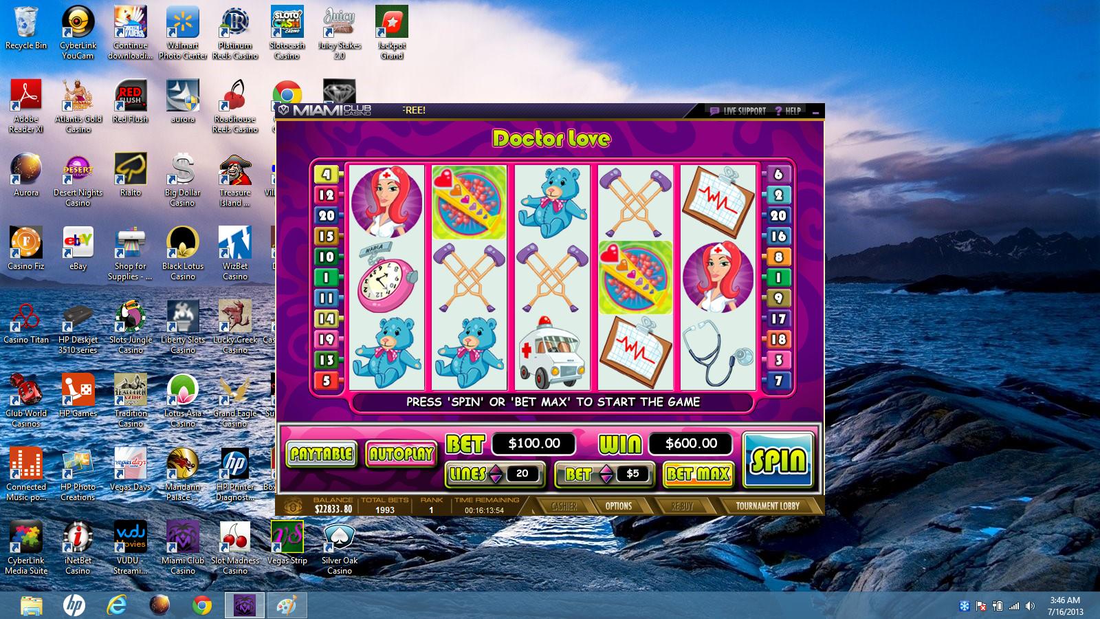 real time gaming casino no deposit bonus