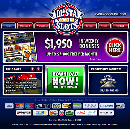all slots casino no deposit