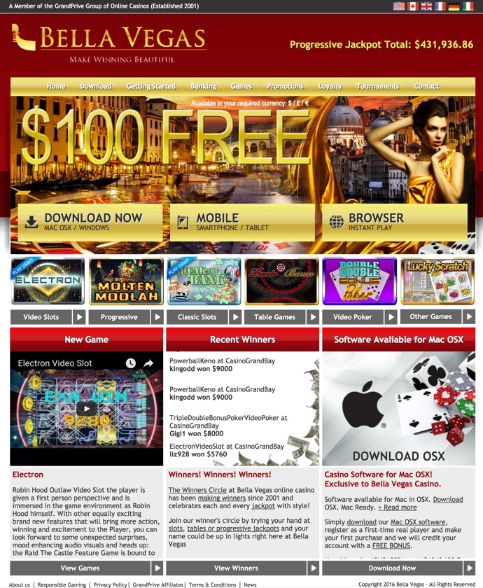 bella vegas casino bonus codes 2019