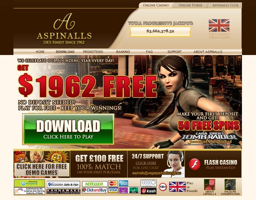 Aspinals casino betfred mobile live casino