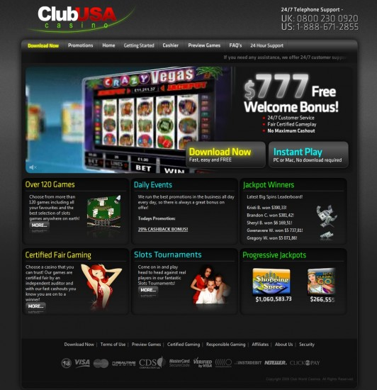 casino club no deposit