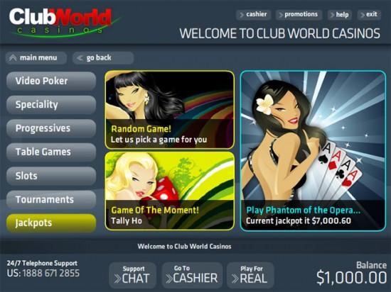 club usa casino lobby