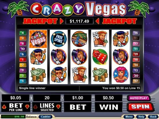 crazy slots club casino