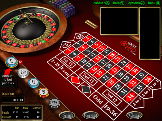 lucky red casino roulette