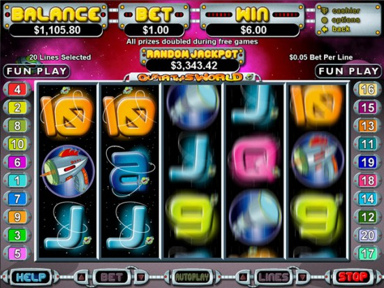 outta this world slot