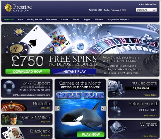 1000 На 60 Мин Казино Prestige