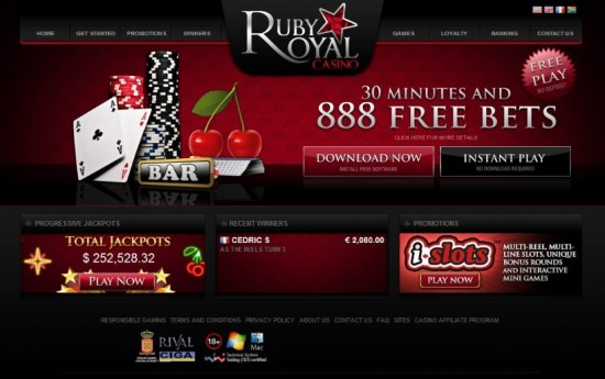 ruby casino royale