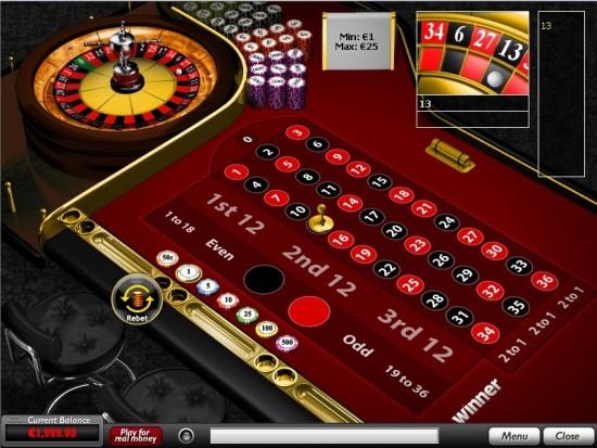winner casino roulette