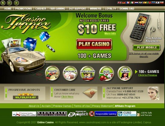 online casino europa ra game