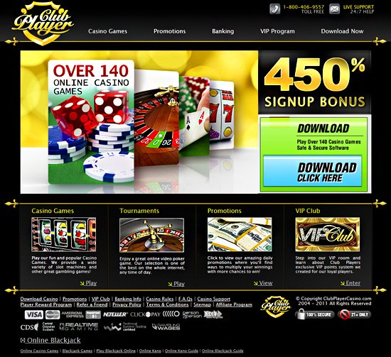club player casino flash play