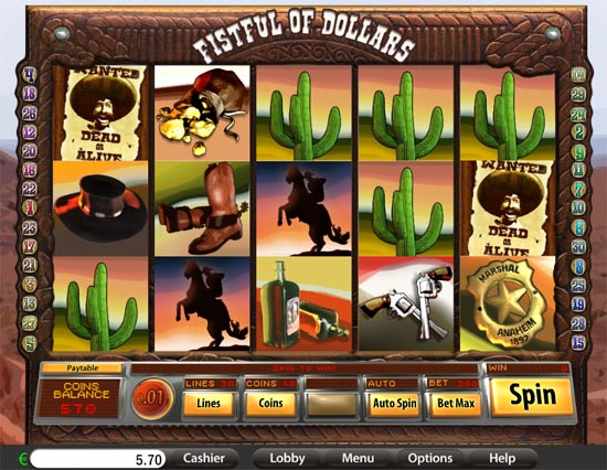 fistful of dollars slot