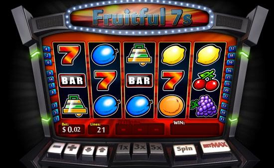 fruitful 7s slot