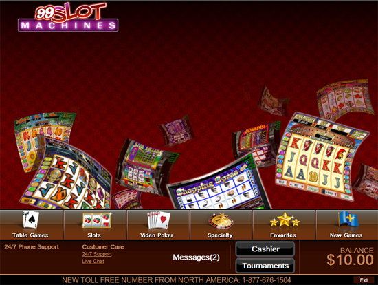 99 slot machines no deposit codes 2015