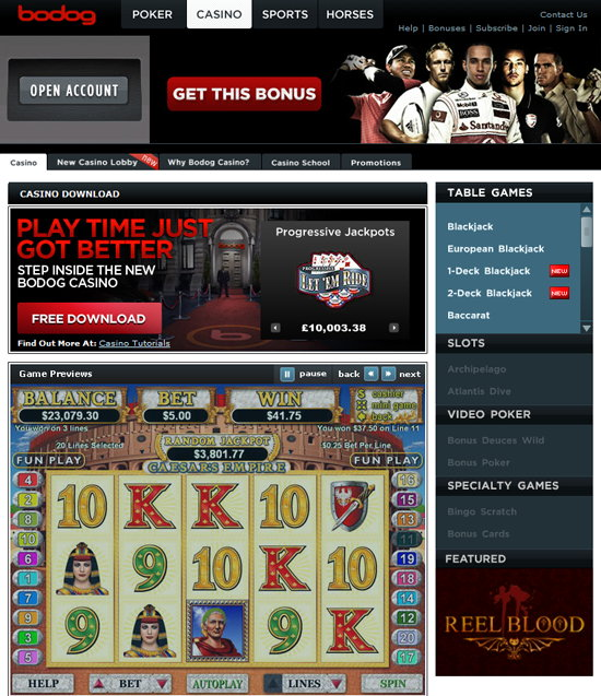 New bodog casino casino barriere denghien