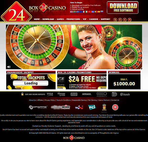 box24 casino bonus code