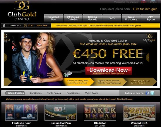 Club Gold Casino Review – Is this A Scam/Site to Avoid