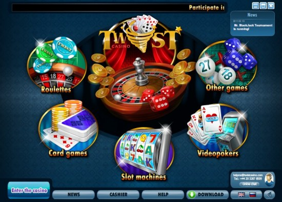 twist games casino