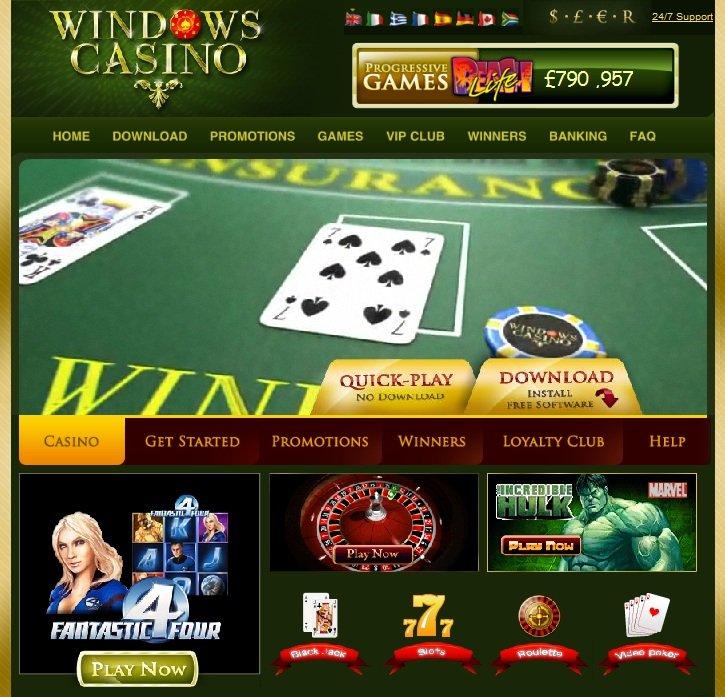 Windows casino bonus code sams town casino tunica ms