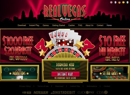 online real time casino