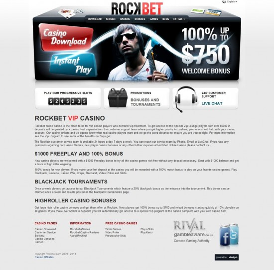 rockbet casino no deposit bonus