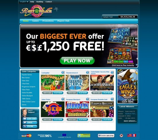 roxy palace online casino lady charm