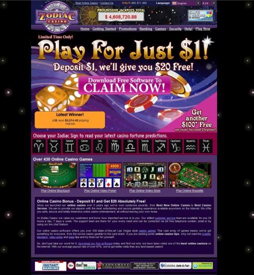 casino rewards zodiac
