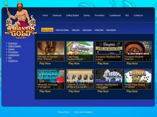 atlantis gold casino lobby