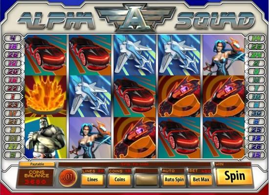 alpha squad slot