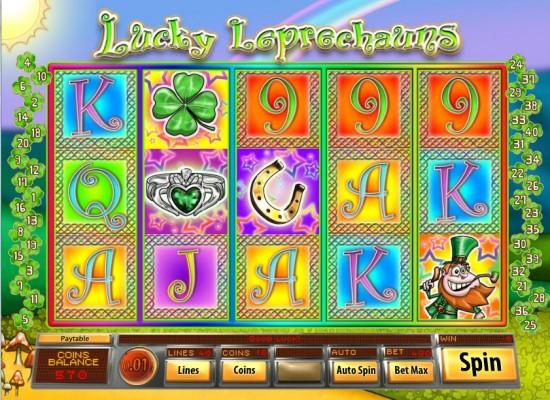 lucky leprechauns slot
