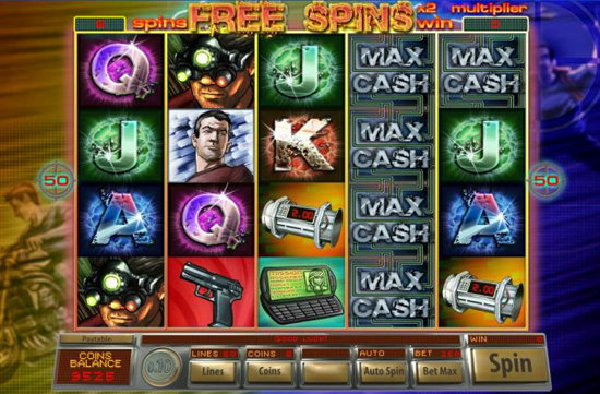Agent Max Cash Casino Game - Play Free Online Slot Machines