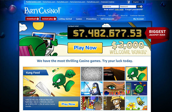 Partycasino bonus 2012 gambling addictions and incarceration