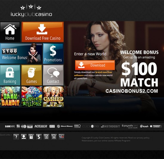 No Deposit Bonus Codes For Lucky Club Casino