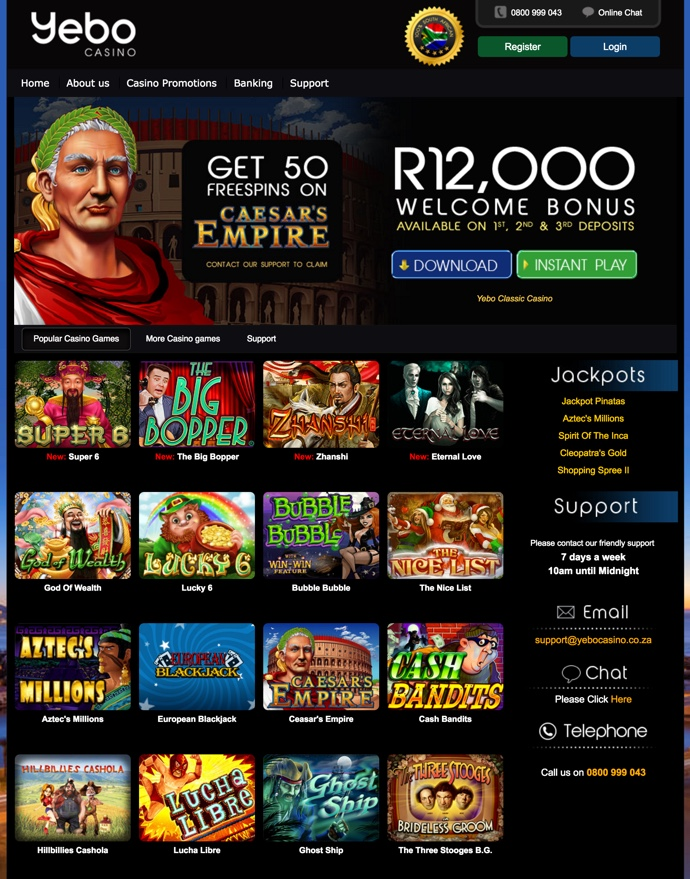 new casino no deposit