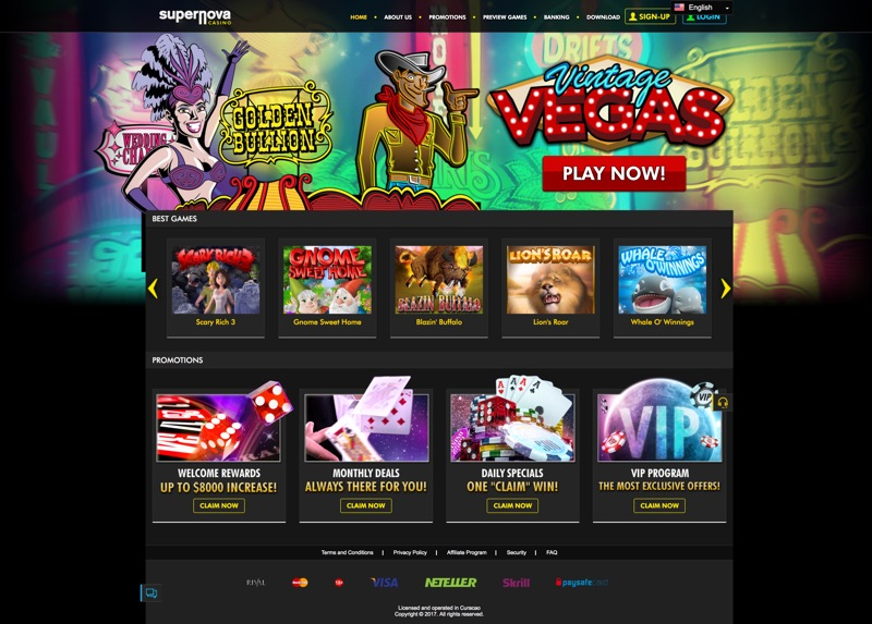 supernova casino no deposit