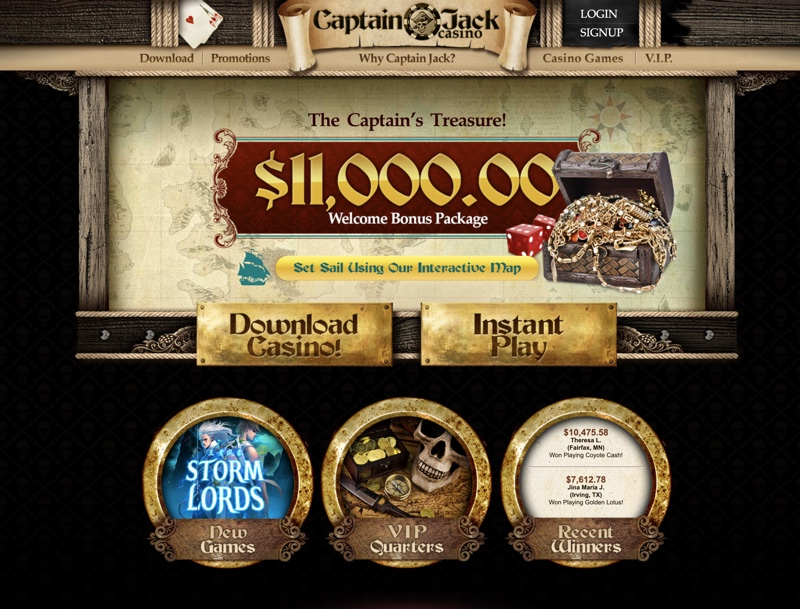 Captain Jack Casino 2020 Review No Deposit Bonus Codes