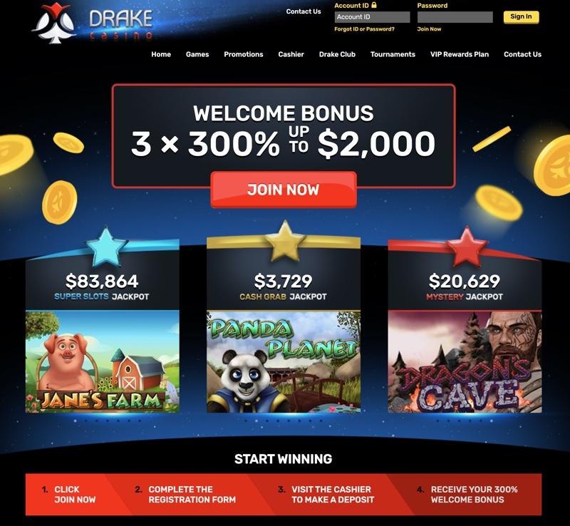 Drake Casino 2020 Review No Deposit Bonus Codes